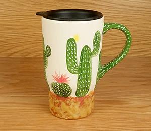 Glendale Cactus Travel Mug