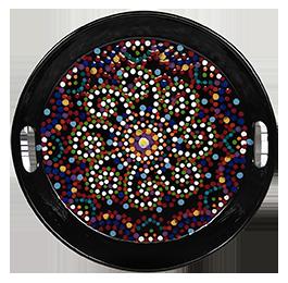 Glendale Mosaic Mandala Tray