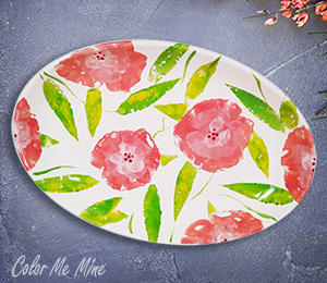 Glendale Floral Paper Stamping