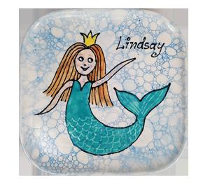 Glendale Mermaid Plate