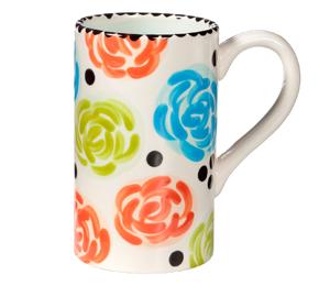 Glendale Simple Floral Mug