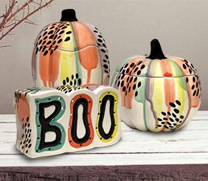 Glendale Drippy Pumpkin Box