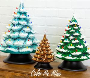 Glendale Vintage Christmas Trees